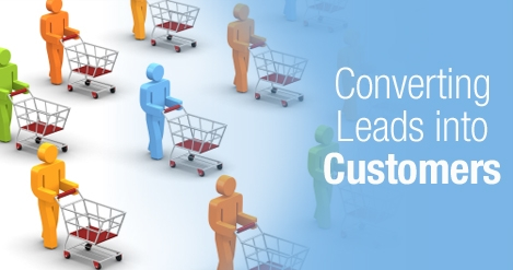 Convert leads to customer